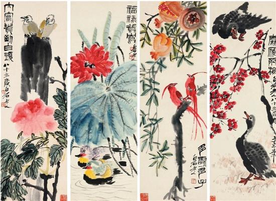 齐白石的花鸟画