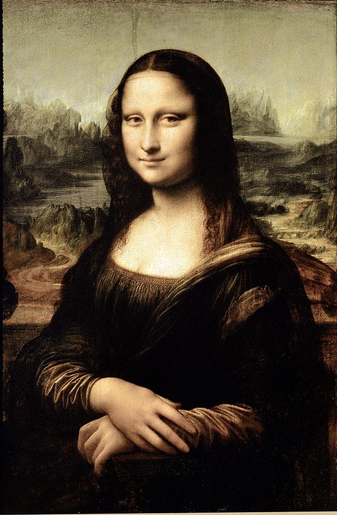 达芬奇的蒙娜丽莎Mona Lisa