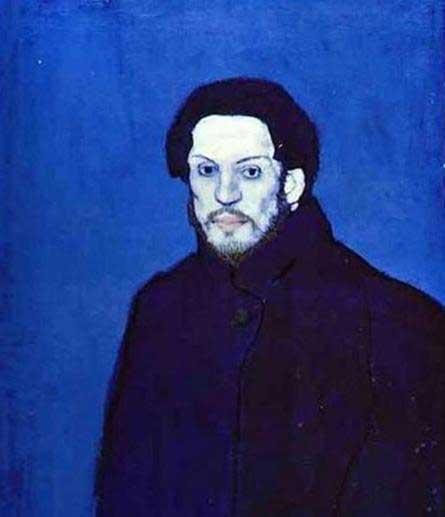毕加索的蓝色自画像