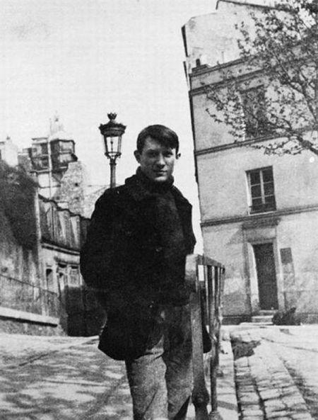 青年毕加索