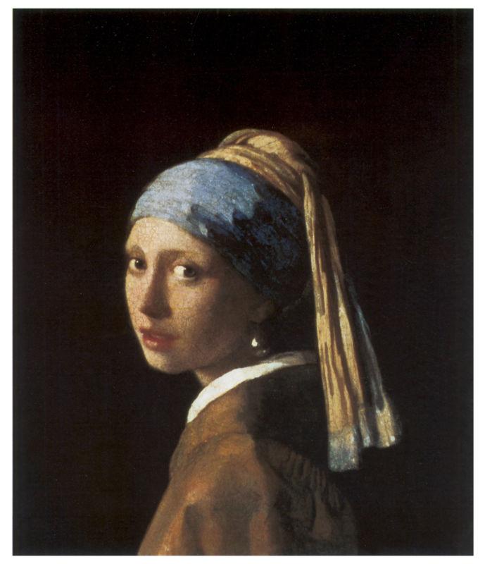 约翰内斯·维米尔 戴珍珠耳环的少女