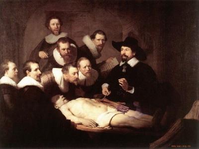 17世纪荷兰伟大画家 伦勃朗代表作
