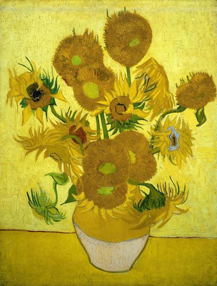 梵高博物馆藏 向日葵