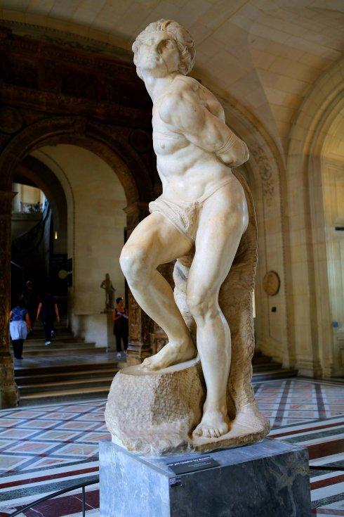 米开朗基罗 奴隶雕塑