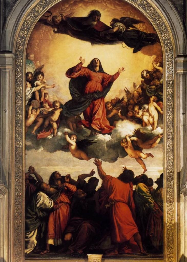 提香·韦切利奥 圣母升天