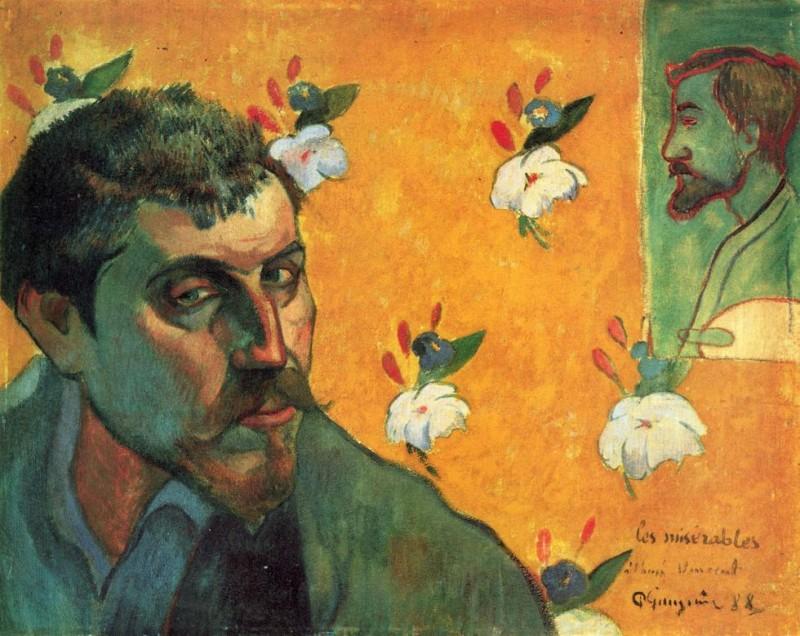 保罗·高更 Paul Gauguin 自画像