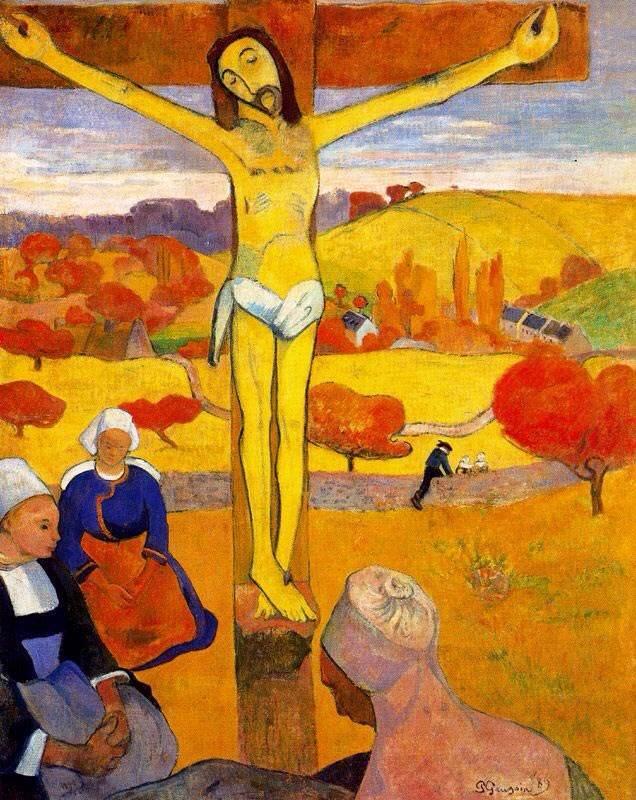 保罗·高更 黄色的基督