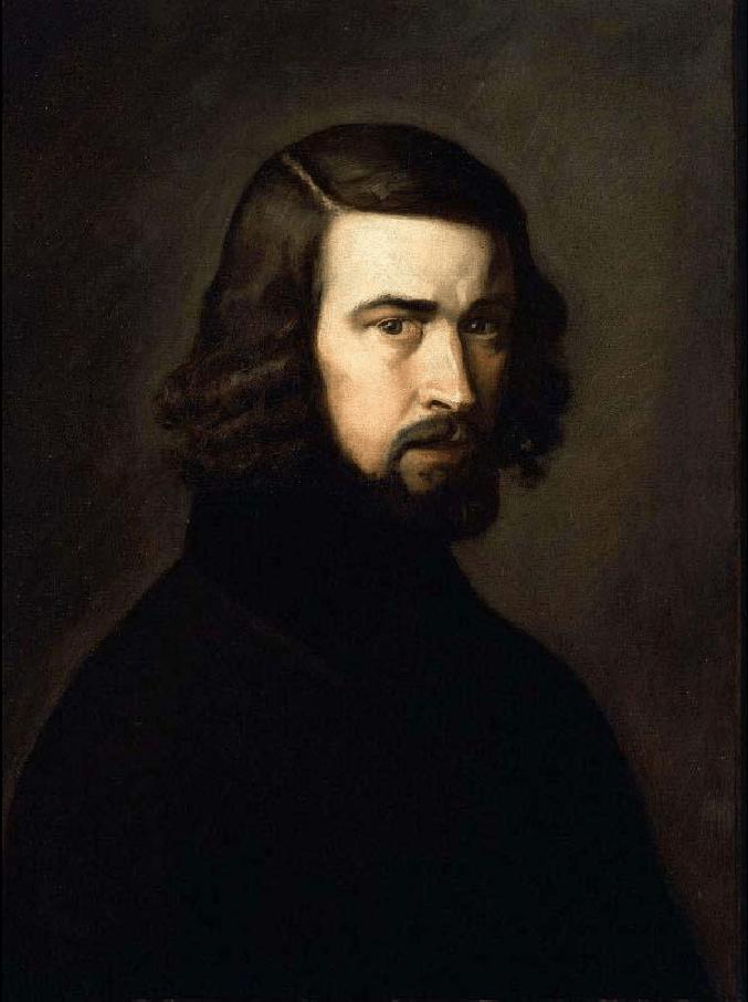 让·弗朗索瓦·米勒 Jean-Francois Millet肖像