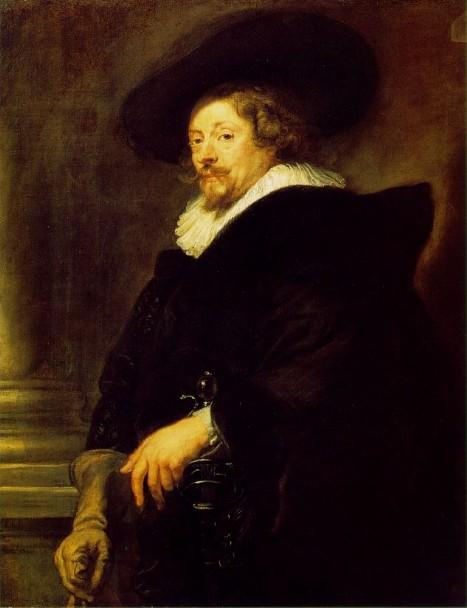 欧洲第一个巴洛克式的画家 鲁本斯  Peter Paul Rubens  自画像