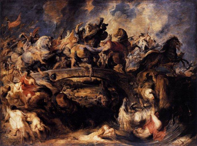鲁本斯 阿玛戎之战
