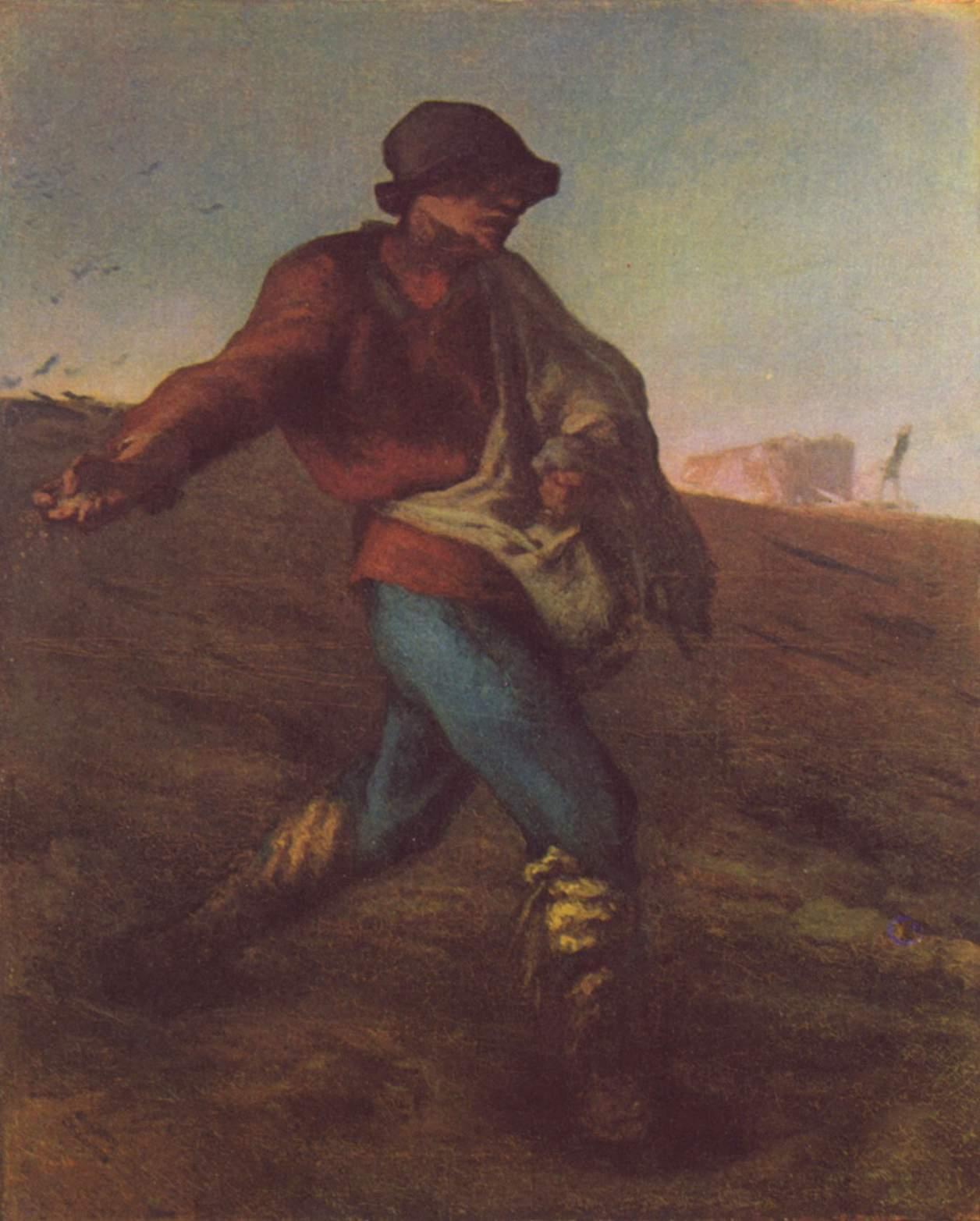 让·弗朗索瓦·米勒《播种者》