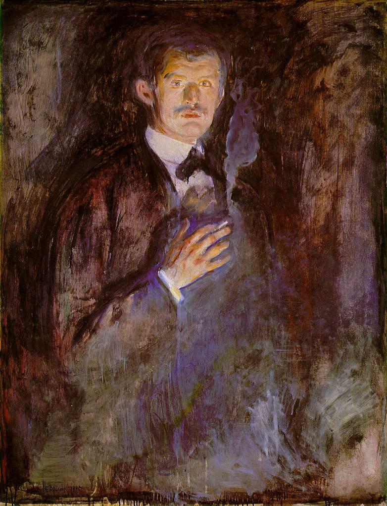 爱德华·蒙克肖像