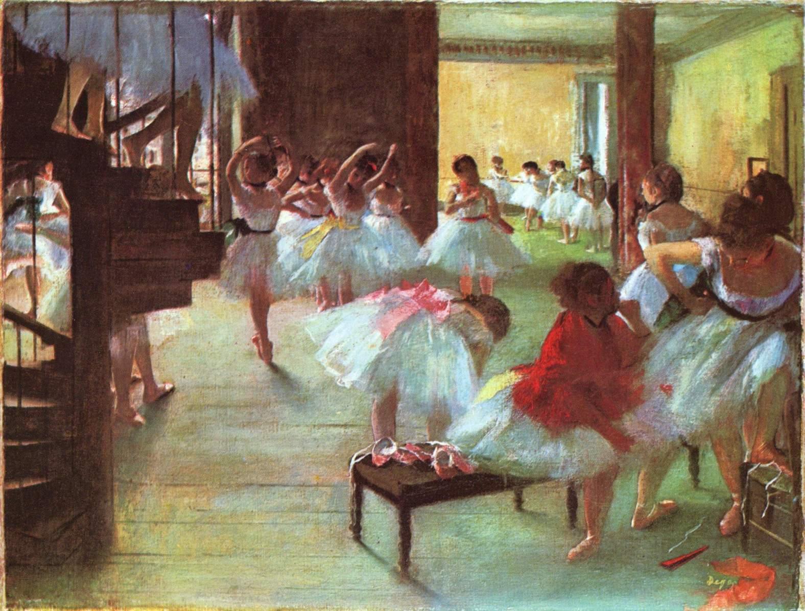 《芭蕾舞教室》