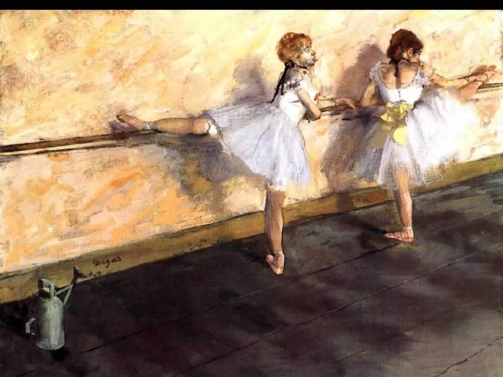 《练习的舞者》