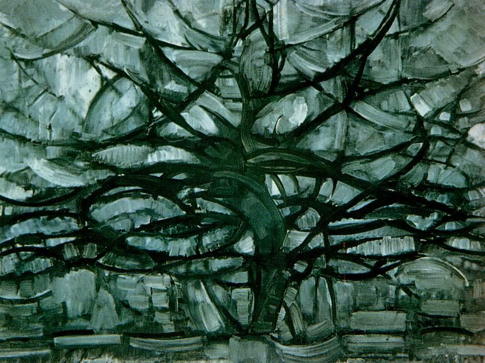 《灰色的树》