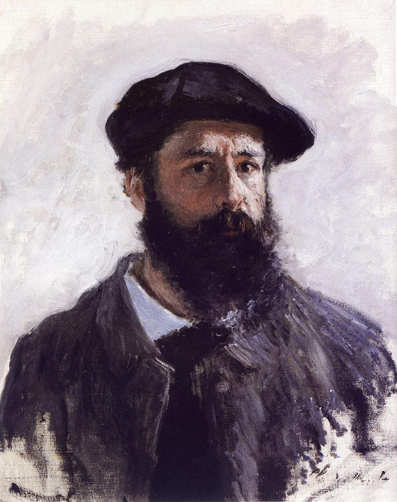 克劳德·莫奈 肖像