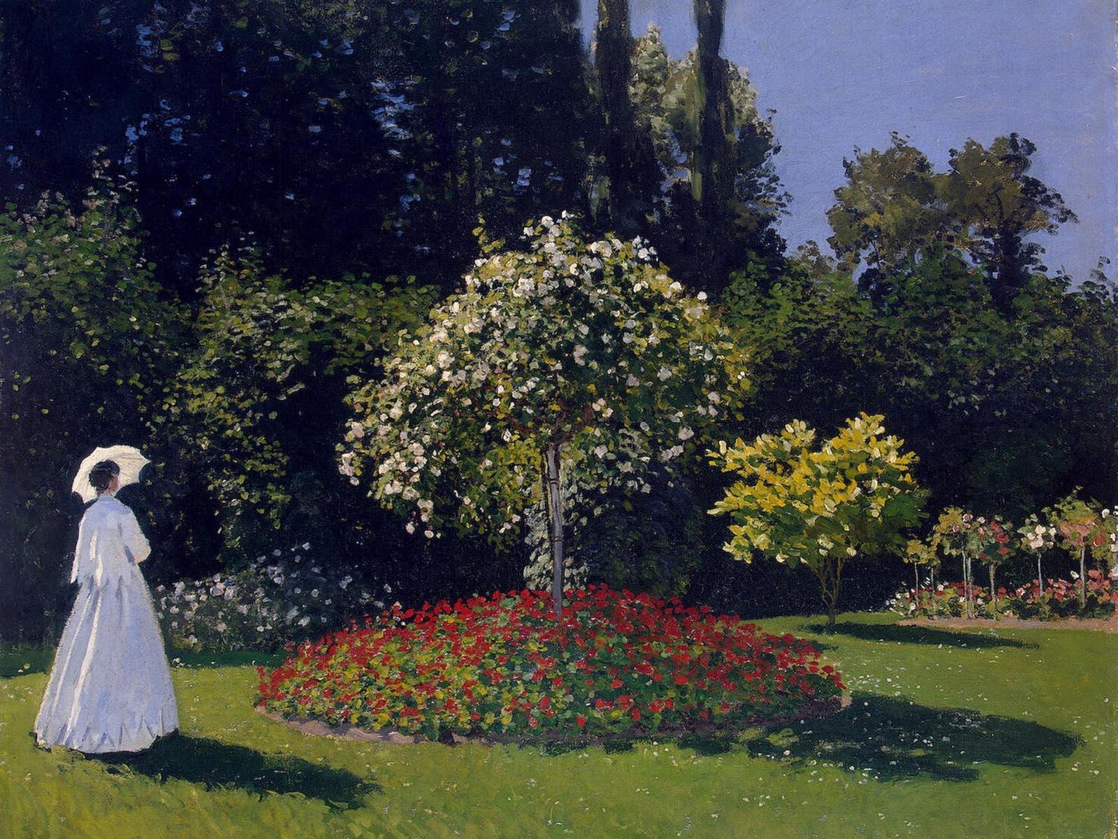 《庭院里的女人们》