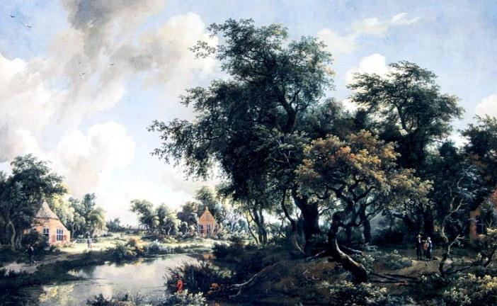 荷兰著名风景画家_霍贝玛_Meindert Hobbema