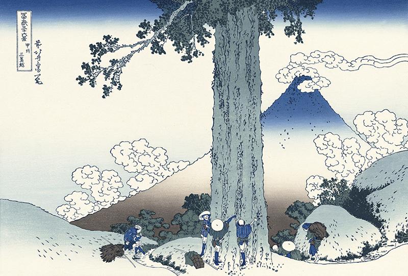 《富岳三十六景》