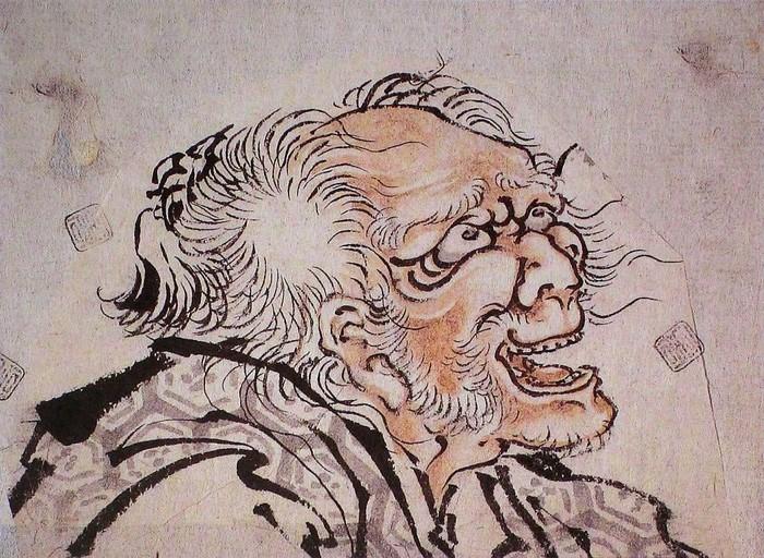 80岁后 葛饰北斋肖像