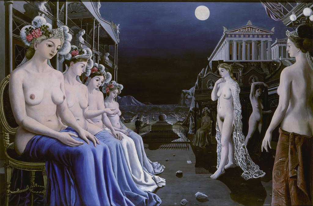 The Great Sirens, P.Delvaux