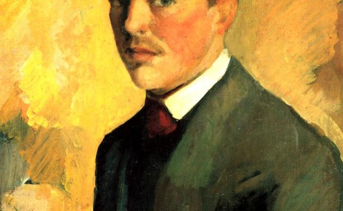 德国表现主义画家奥古斯特·麦克       Auguste Macke