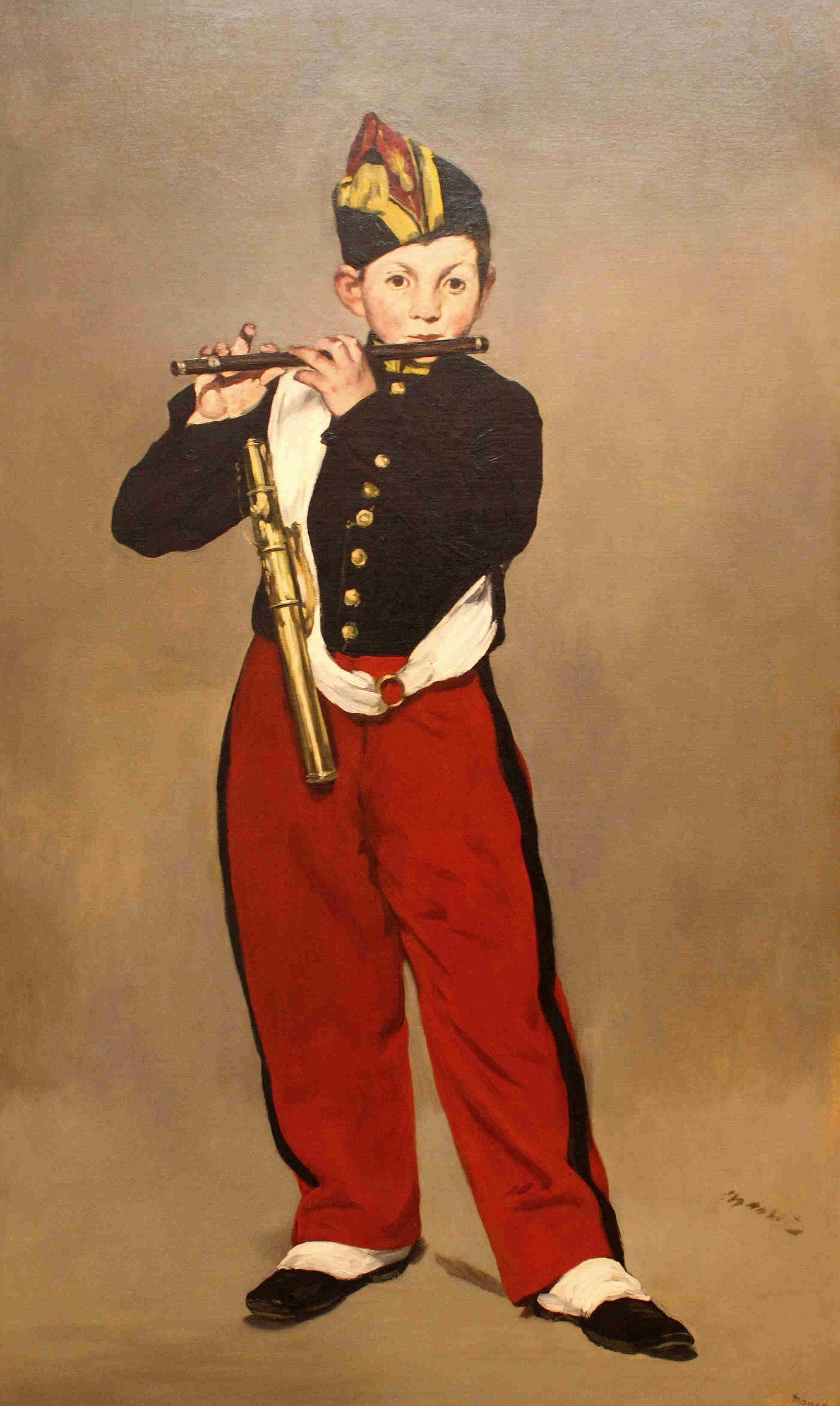 《吹笛少年》