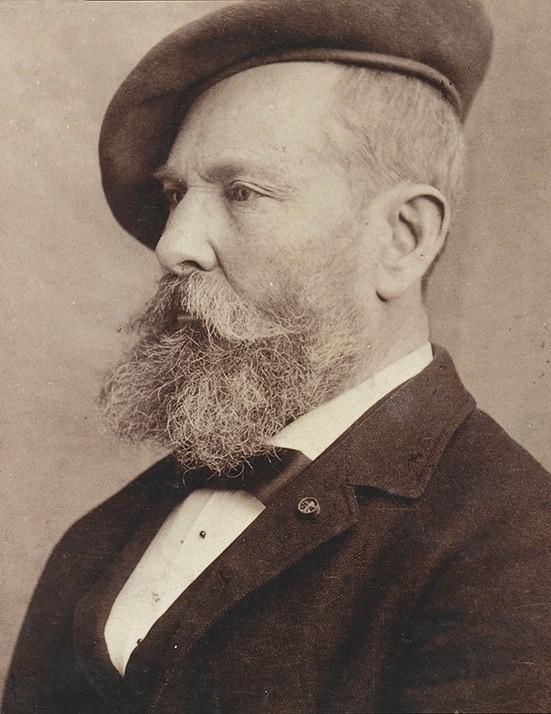 阿尔弗莱德·西斯莱肖像