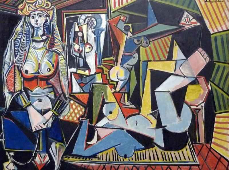 毕加索作品《阿尔及尔女人(O版)》
