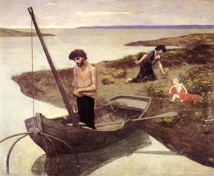 《贫穷的渔夫》
