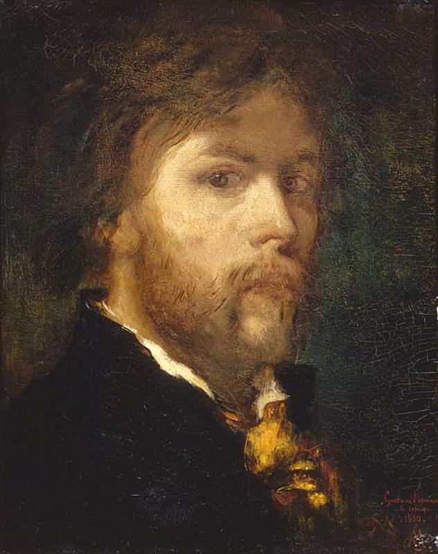居斯塔夫·莫罗肖像