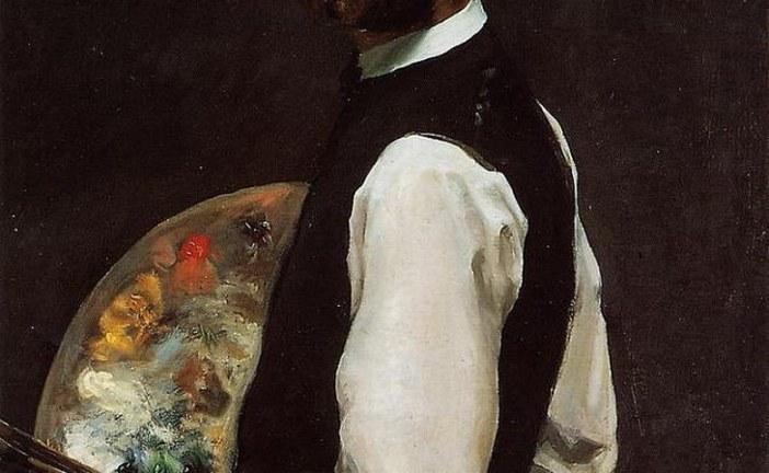 法国著名印象派画家弗雷德里克·巴齐耶      Frederic Bazille