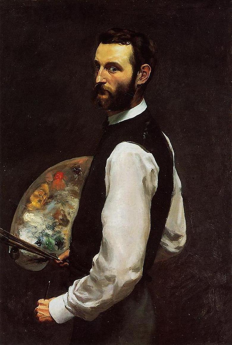 弗雷德里克·巴齐耶肖像