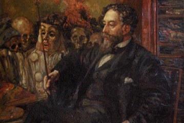 比利时著名画家詹姆斯·恩索尔       James Ensor