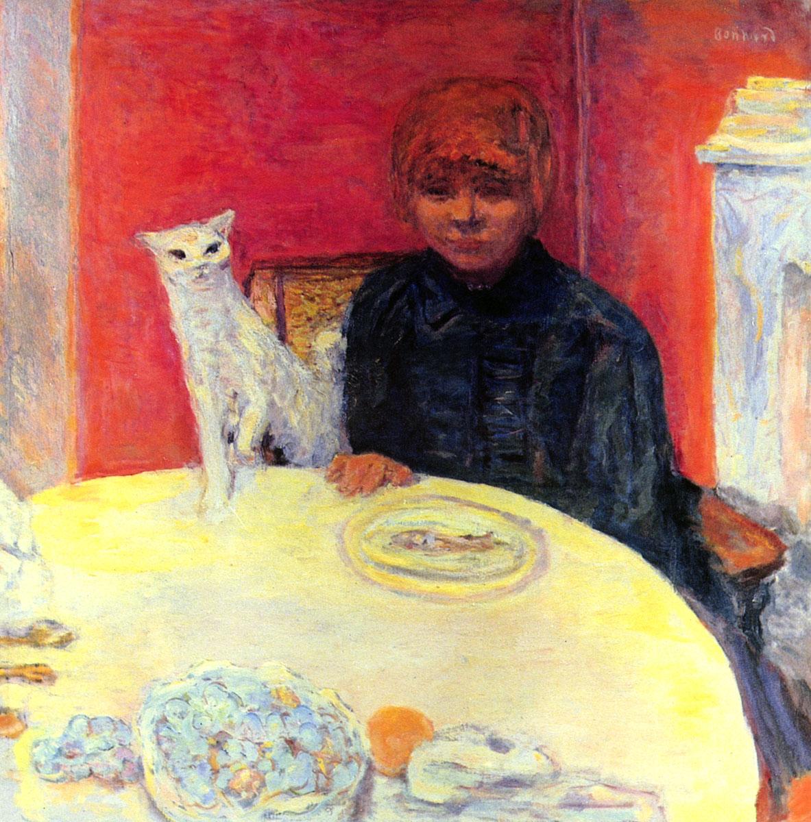 《妇女和猫》
