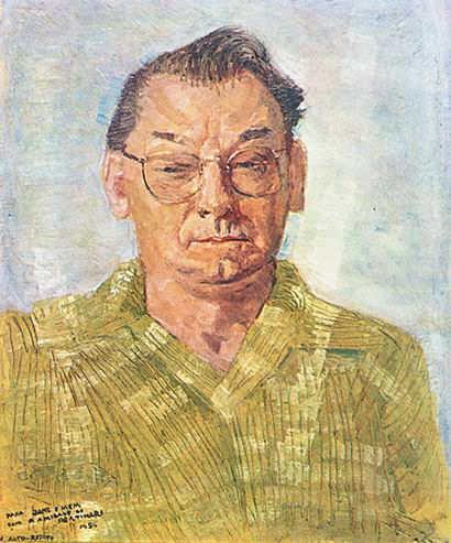 坎迪多·波尔蒂纳里肖像