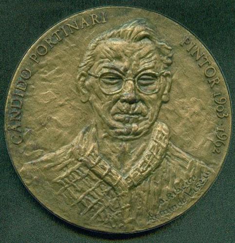 坎迪多·波尔蒂纳里纪念章