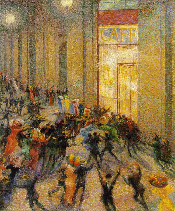 《美术馆裏的骚动》