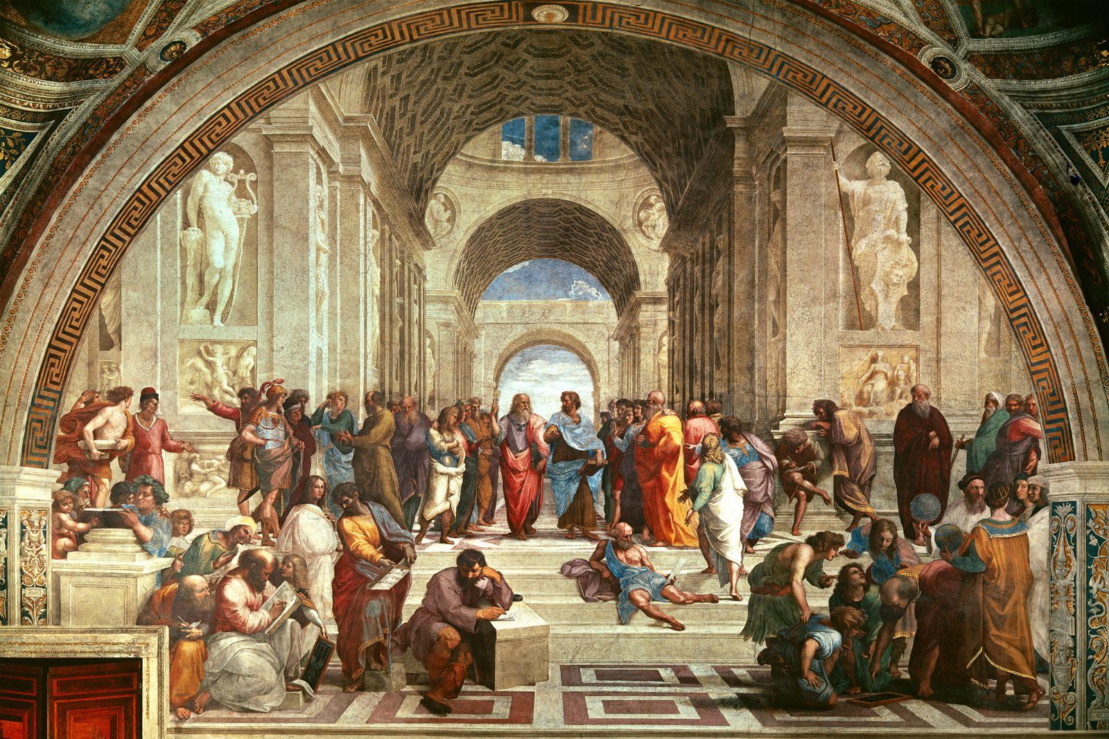 《雅典学派》