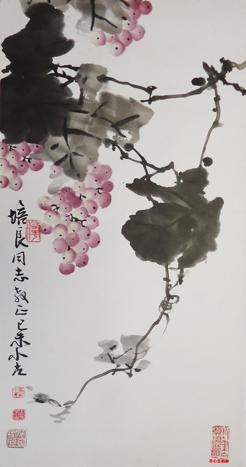 王小古书画作品