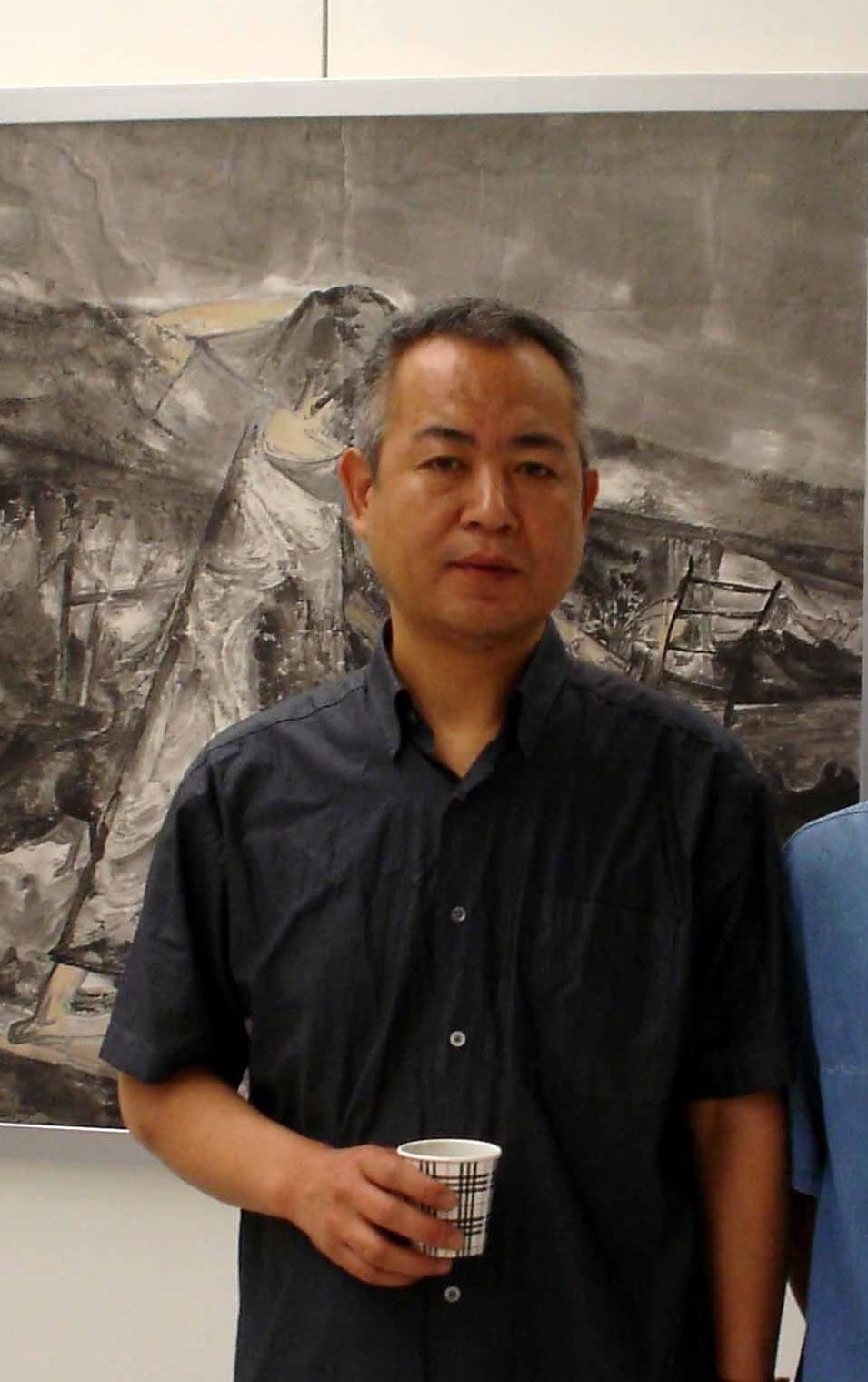 书画家刘进安