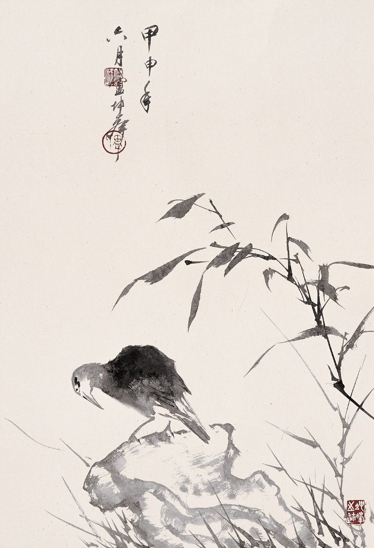 卢坤峰书画作品