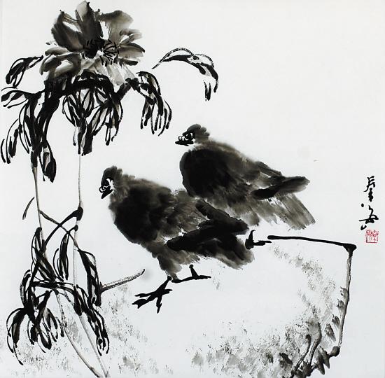 秦海绘画作品