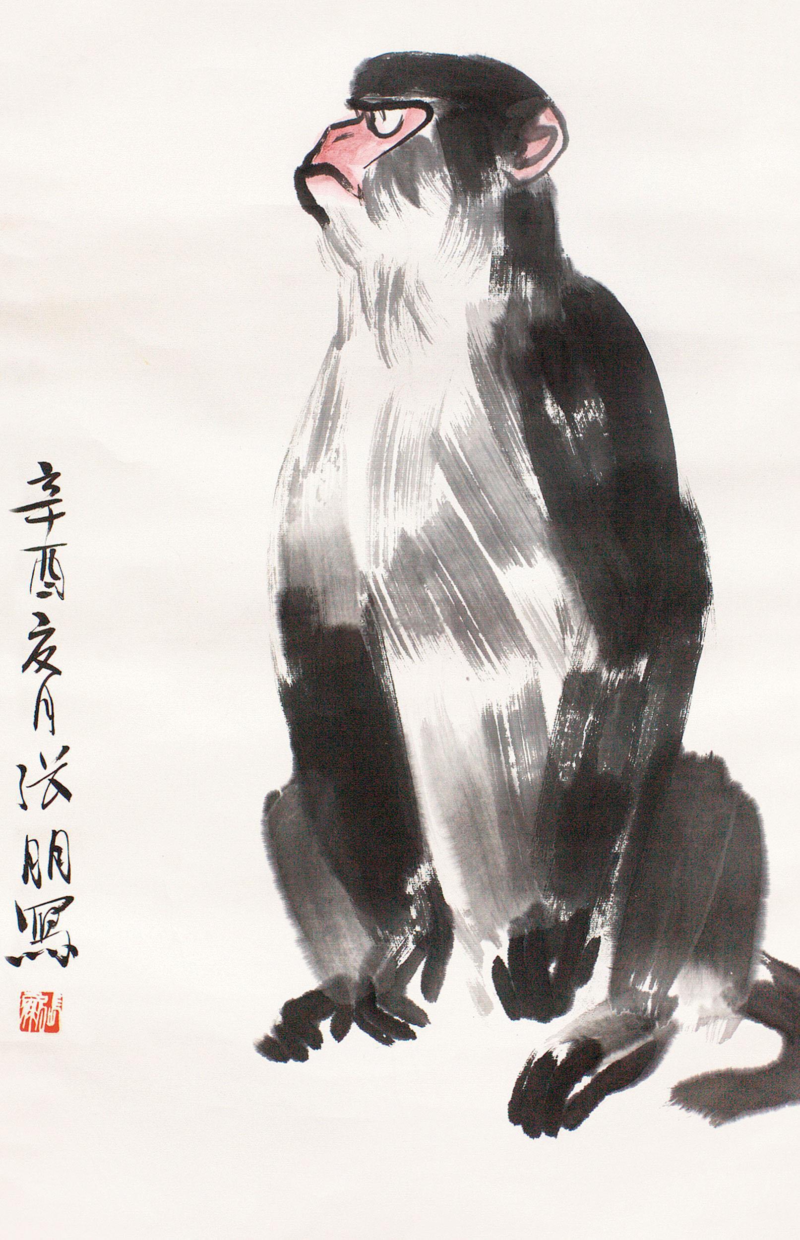 张朋绘画作品
