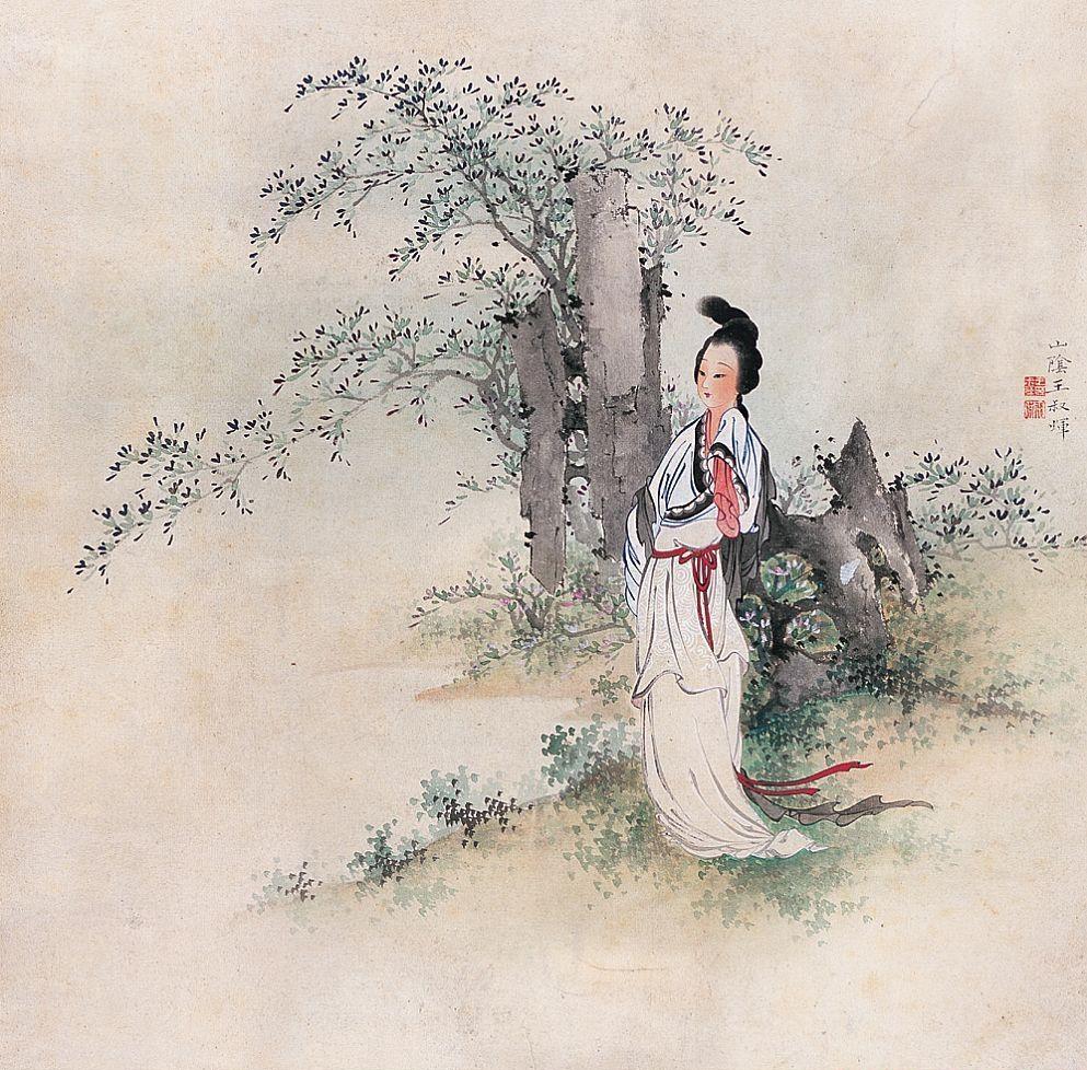 王叔晖绘画作品