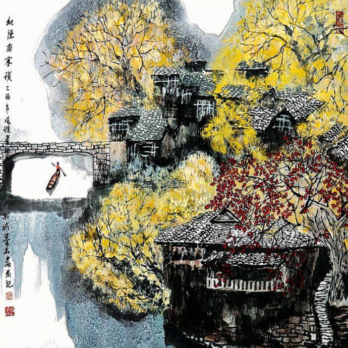 宋雨桂绘画作品