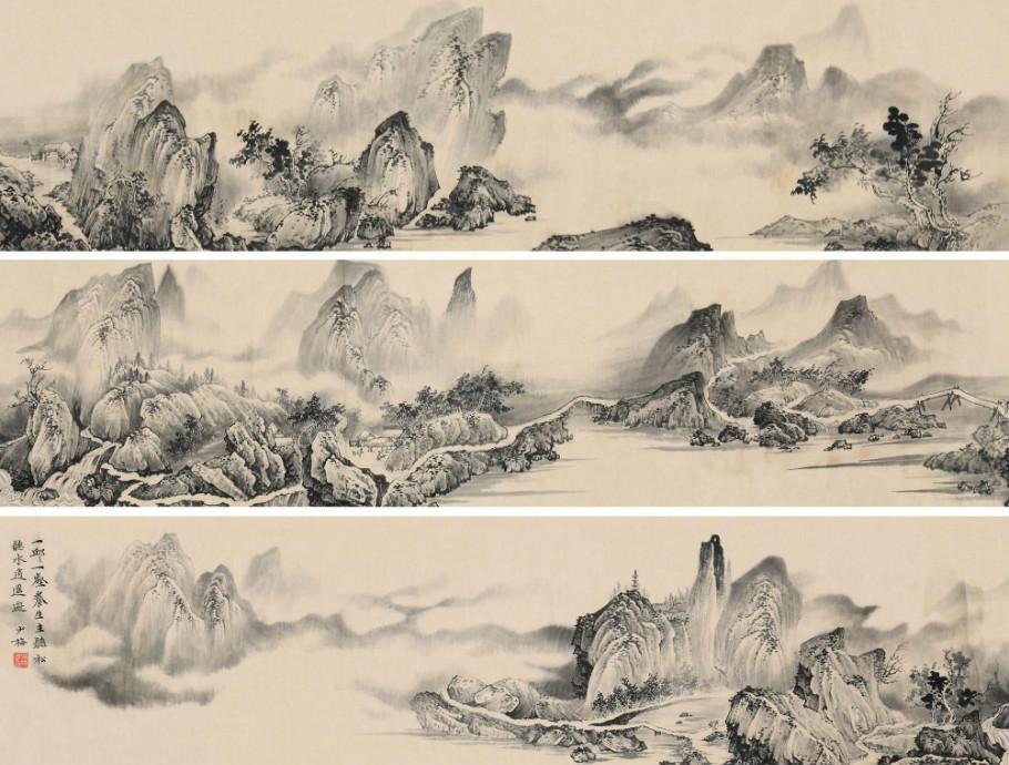 陈少梅绘画作品