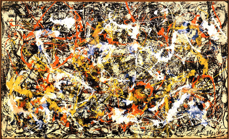 杰克逊·波洛克绘画作品