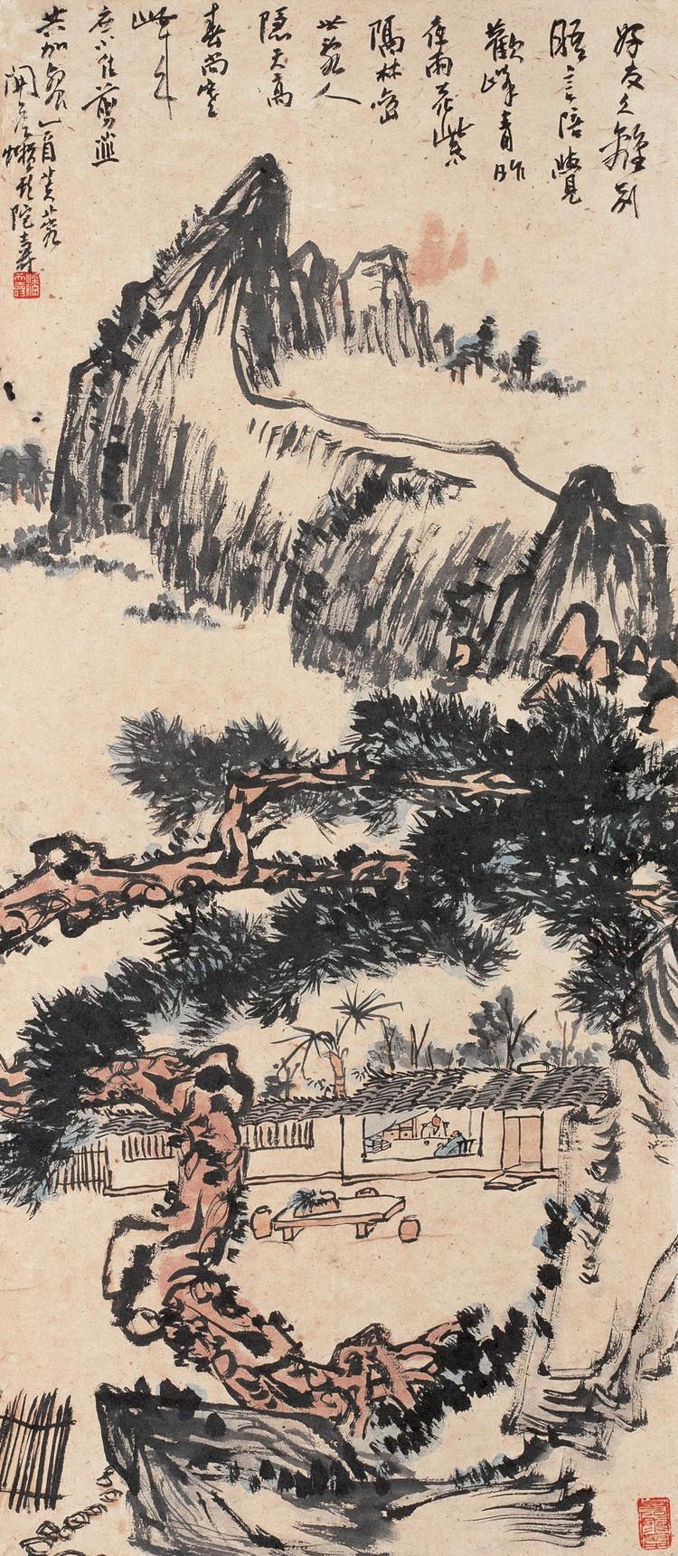 潘天寿绘画作品