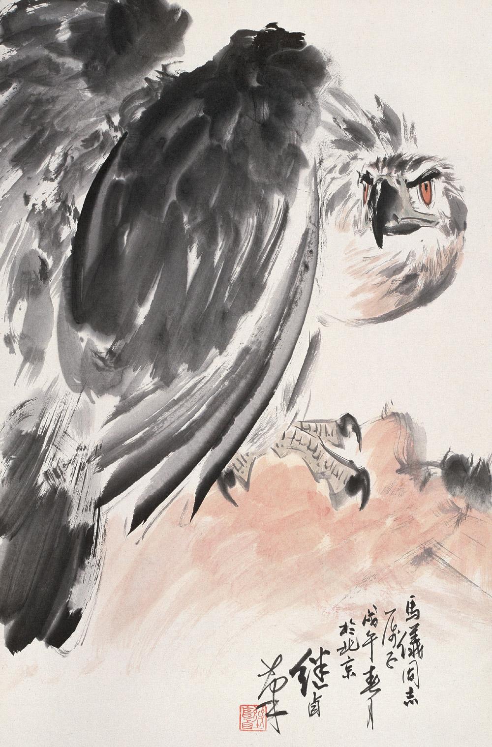 刘继卣绘画作品